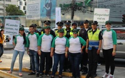 Cervecerías Barú Panamá, Ricardo Pérez, Gente TVN y la Policía Nacional, en alianza Unidos por la Seguridad Vial
