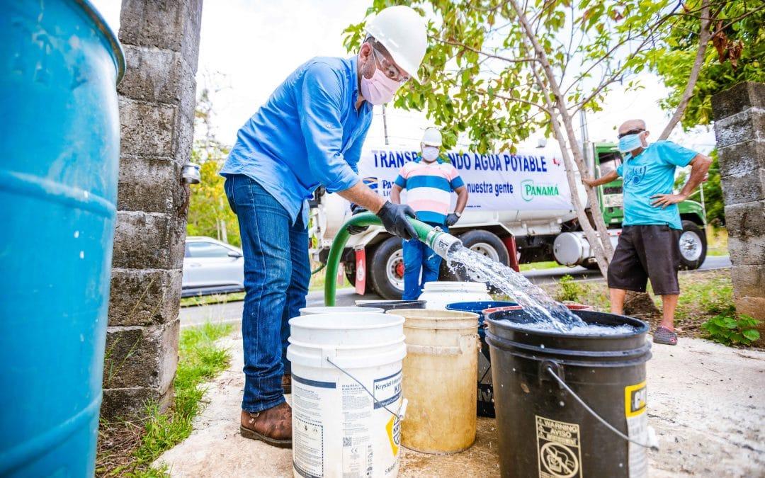 Donación de Agua de Heineken Panamá en medio de la Pandemia