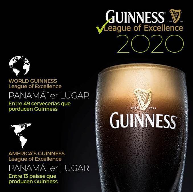 """Nos complace anunciar que hemos logrado la 1era posición en el """"World Guinness League of Excellence 2021"""" entre los 47 países que producen la cerveza irlandesa #Guinness"""